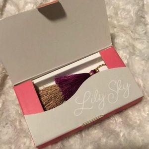 NIB LilySky designs tassel necklace and eating set